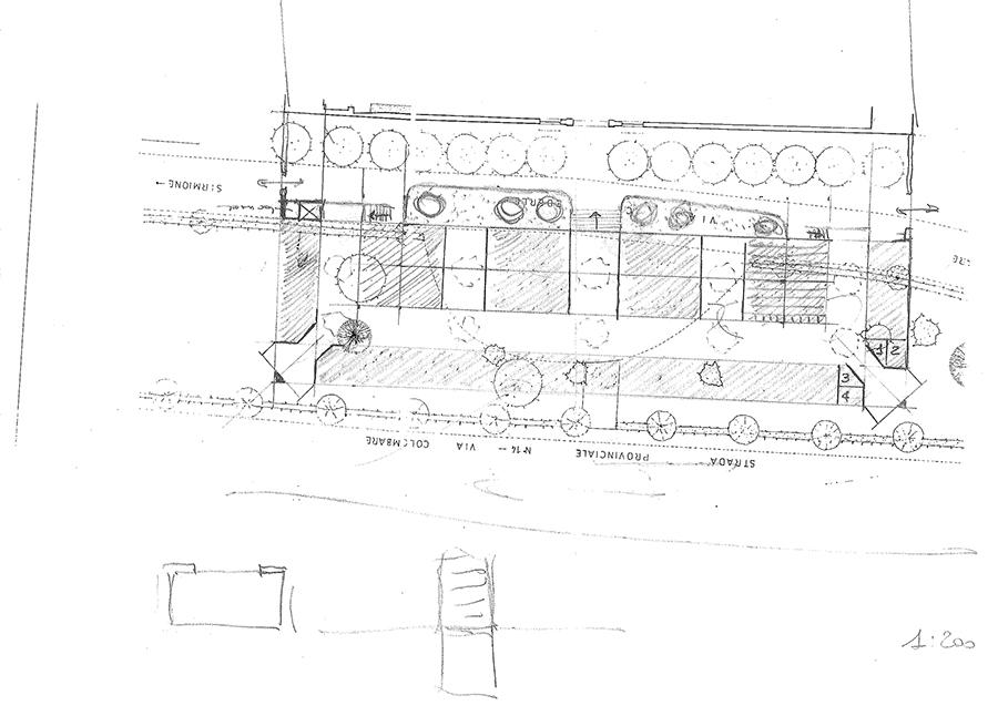 Studio di Architettura Fattori Fausto - Progetto Sirmione Insieme_cimitero sirmione_1