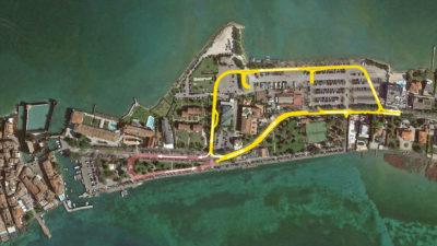Studio di Architettura Fattori Fausto - Progetto Sirmione Insieme_Piazzale Monte Baldo parcheggio