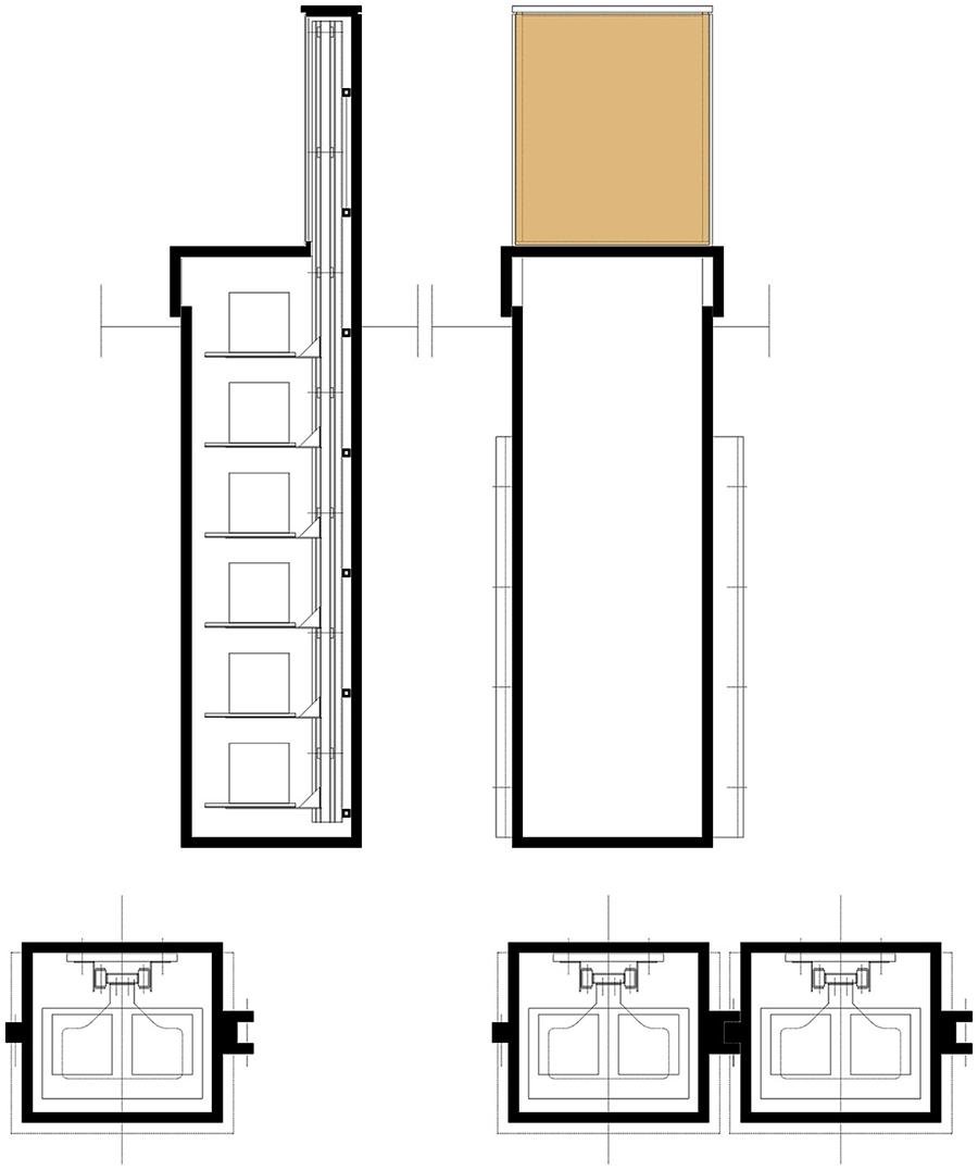Studio di Architettura Fattori Fausto - Progetto Sirmione Insieme_cimitero sirmione_progetto tomba di famiglia