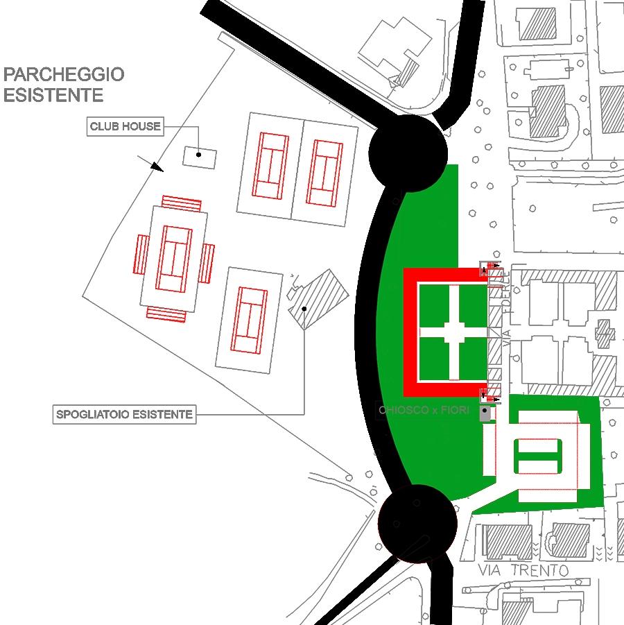 Studio di Architettura Fattori Fausto - Progetto Sirmione Insieme_cimitero sirmione_progetto cimitero sirmione