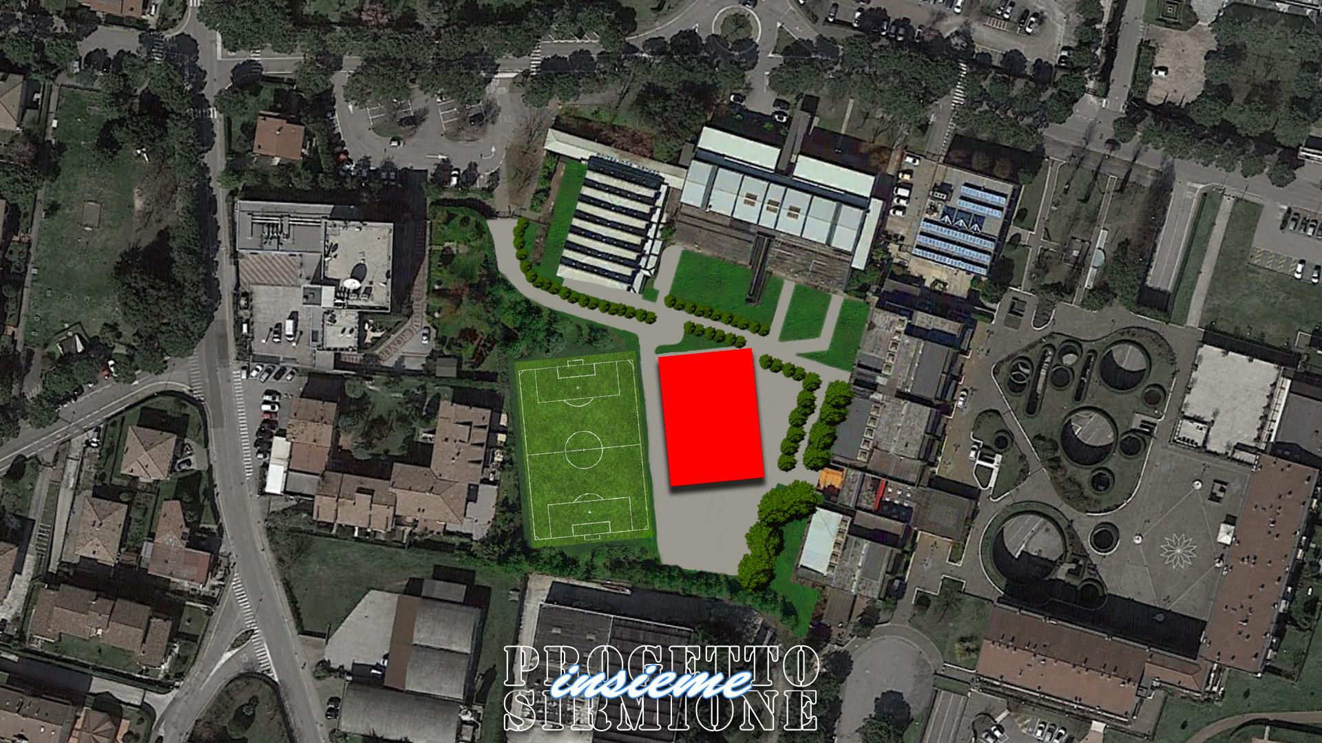 Progetto Sirmione Insieme_scuole elementari medie Trebeschi di Sirmione: progetto nuova palestra e nuova mensa