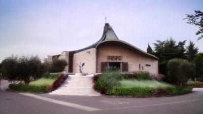 Progetto Sirmione Insieme_Chiesa di San Francesco Colombare di Sirmione - progetto sagrato e fondazione Azelio Vavassori