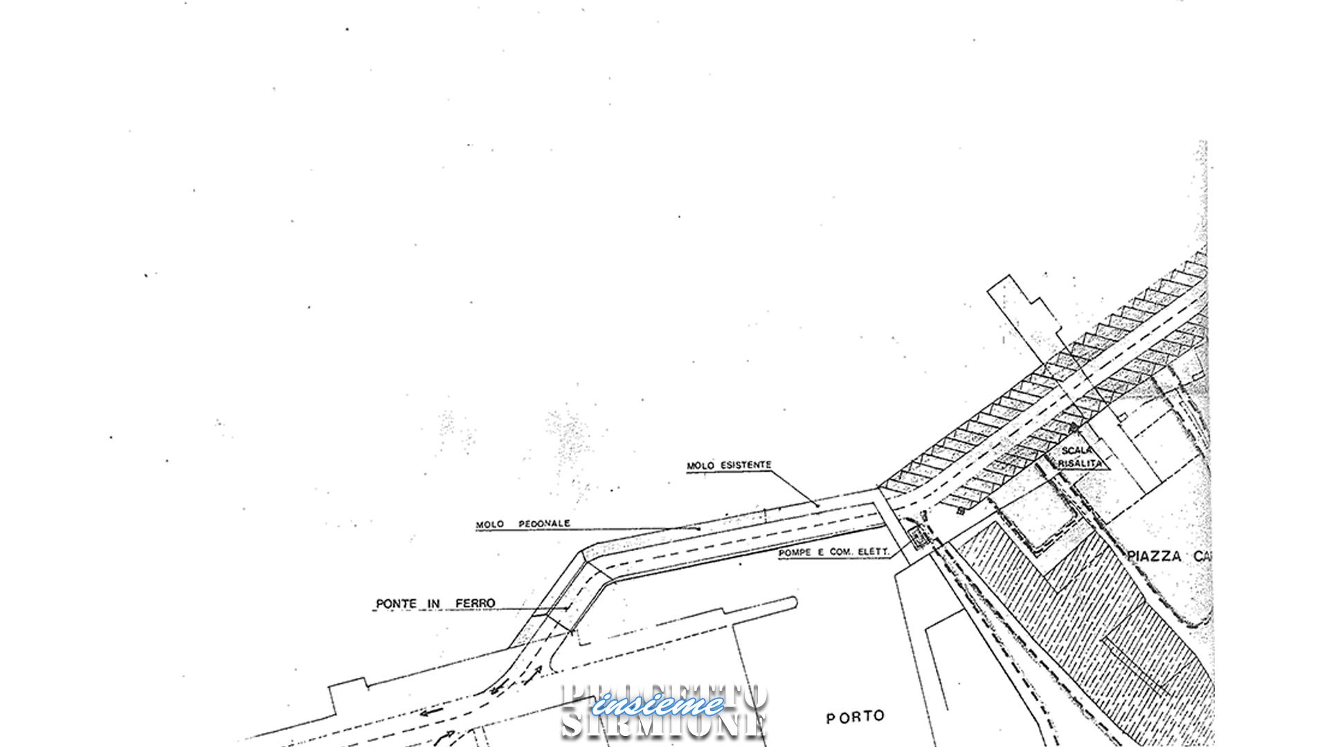 Progetto Sirmione Insieme_progetto ponte pedonale come secondo accesso per Sirmione_ing Vavassori e Gorlani