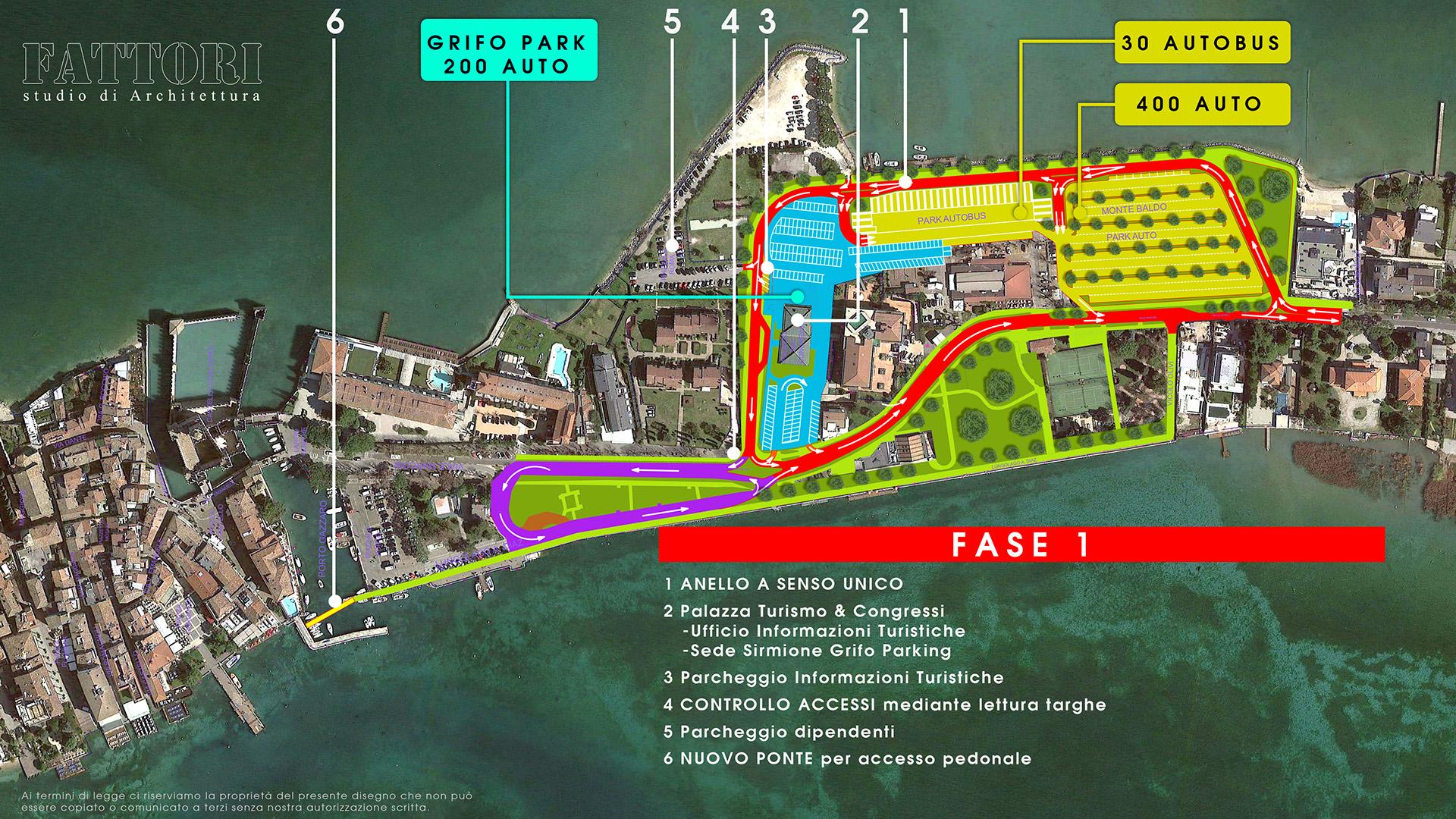 Studio di Architettura Fattori Fausto - Viabilità Sirmione il progetto - Fase 1