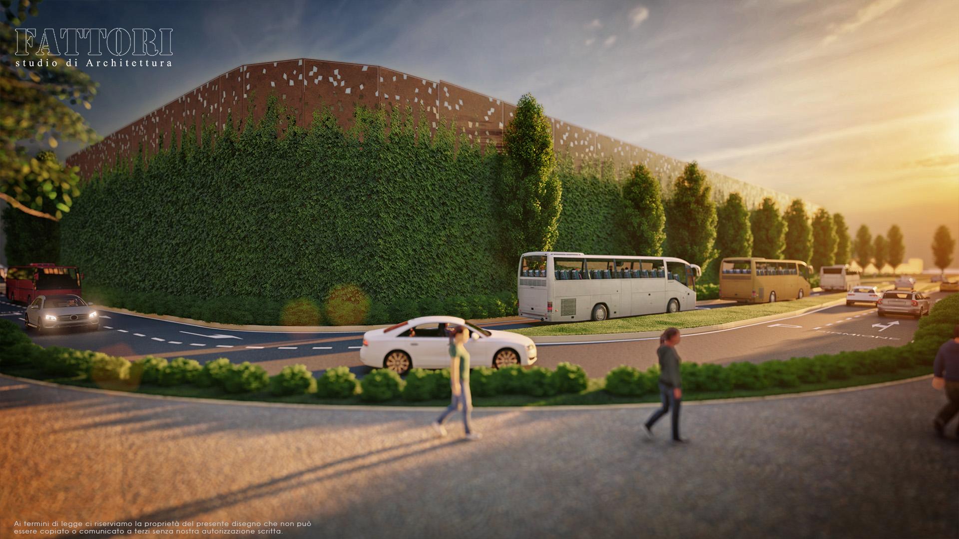 Studio di Architettura Fattori Fausto - Parcheggio Sirmione Multipiano Progetto 2