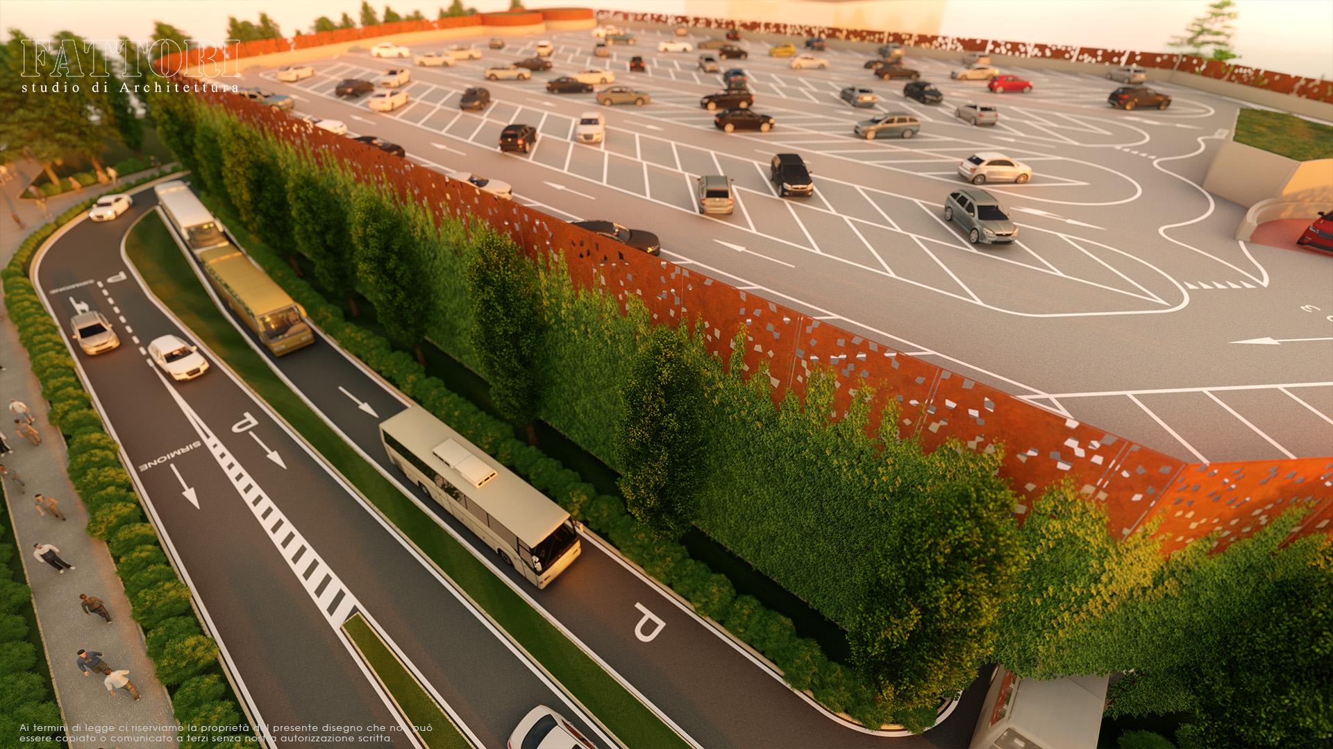 Studio di Architettura Fattori Fausto - Parcheggio Sirmione Multipiano Progetto 4