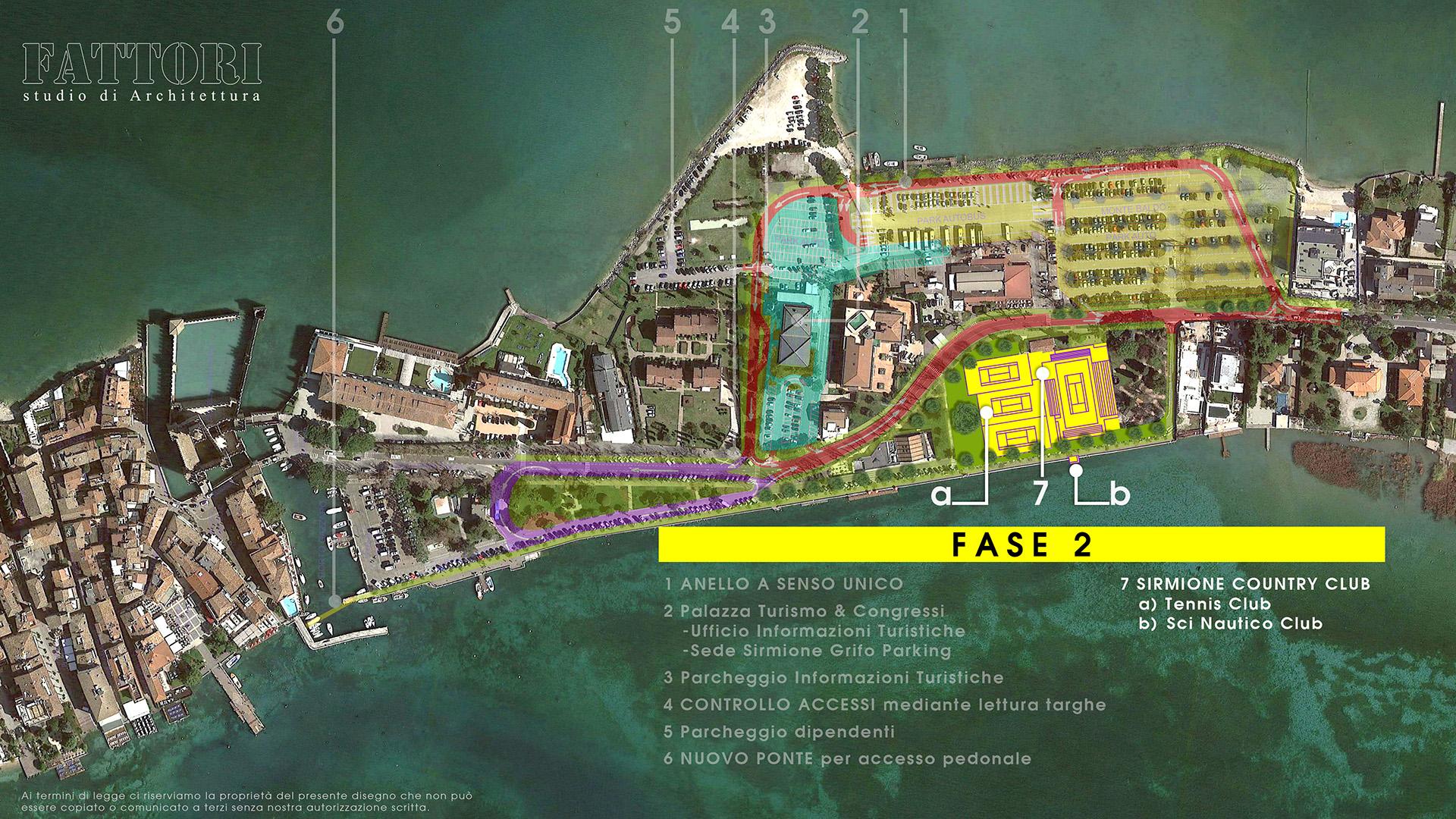 Studio di Architettura Fattori Fausto - Viabilità Sirmione il progetto - Fase 2
